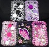Rhinestone diamond bling phone case phone accessories for blackberry case