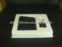 white phone tray