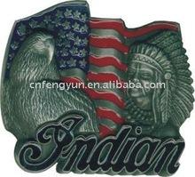 American Eagle&Indian Belt Buckle