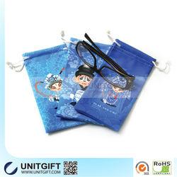 Fashion microfiber cell phone bag