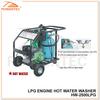 POWERTEC 9.0HP/2500PSI lpg engine hot water pressure washer
