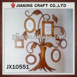 metal photo frame like fruits on the tree,metal family tree photo frames,lively photo frame at cheap price