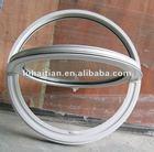 China luhaitian- arc pvc fixed window, round windows that open