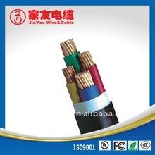 Low voltage 4 cores Copper conductor cable