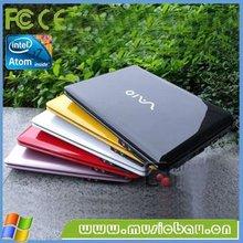 10 inch Windows 7 ready cheap intel atom2500 netbook 2GB/320GB