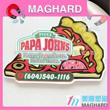 pizza fridge magnet promotion item custom design