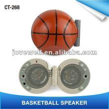 Gift Promotion Portable Mini little ball speaker,.Basketball shape for Mobile Phone Speaker