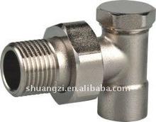 brass radiator valve in China
