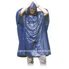 Waterproof fashionable western nylon rain poncho