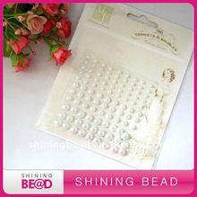pearl rhinestone sticker gem