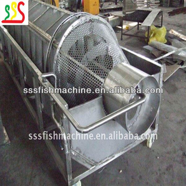 fish descaling machine
