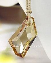 nice crystal cut glass pendant