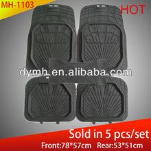 2015 hot sales universal pvc car floor mats