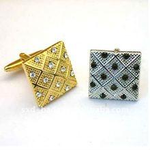 Handmade Copper Cufflinks with spot drill/women plain long sleeve shirt/long sleeve plaid shirt in China