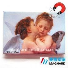Iron Fridge Magnet Tourist souvenir Angel first kiss
