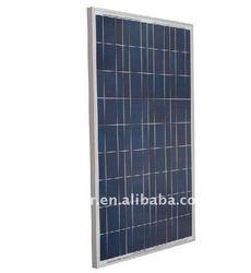 145w 12v polycrystalline solar cell panel for mobile communication system