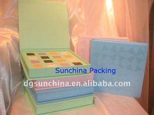 2014 nice paper eye shadow makeup packaging box for cosmetic packaging