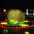 fuente del jardín ornamento de agua