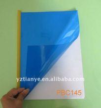 Rigid transparent A4 PVC binding cover sheet