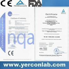 pH home acid test