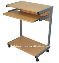 wood compact computer desk