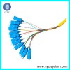 Fiber Optic SC 12cores distribution patch cord