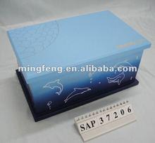 Sea blue classic cosmetic case 2014