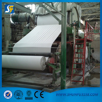 1760mm Tissue paper making line and making paper moulding machine