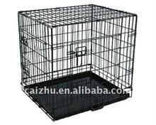 """30"""" Double Door Folding Wire Pet Cage"""