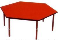 cheap tables children school table hexagon desk table in children furniture