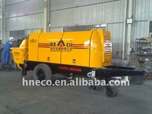 ISO9001-2001 trailer-mounted stationary diesel engine concrete pump