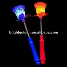 Led flower shaped glow stick