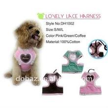 Sweat Heart Lace dog Soft Harnesses