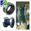 Big axial position concrete expansion joint