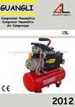 Compresor de aire portable del pistón de la venta caliente 1HP