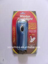 manual dynamo torch light