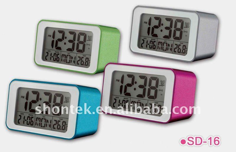 radio controlled lcd alarm clock view radio controlled lcd alarm clock oem. Black Bedroom Furniture Sets. Home Design Ideas