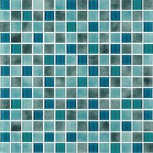 Powder & Crystal Mix: Ocean Blue and Grey