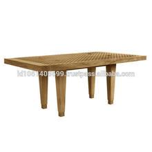 Solid wood teak wood rectangular table,rectangular teak wood dining table,outdoor wood teak
