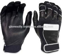 Custom Logo Leather Baseball Batting Gloves