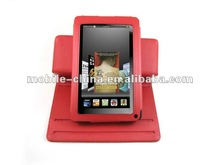 Premium Leather Folio case with Stand for Amazon Kindle Fire black