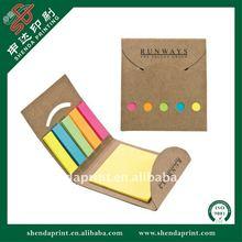 2012 Newest Design Softcover Sticky Note Pad Memo Pad SDMP-110007