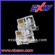 4P4C Modular Plug