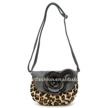 Fashion Evening Bags with the flower in animal color