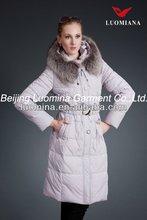 2013mink fur fashion women winter down jacket