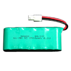 NiMH SC 2500mAh 6.0V Rechargeable Battery