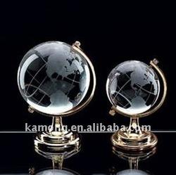 Imitation World Map Balls for Crystal Globes