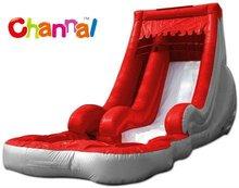 Giant Inflatable Volcano Water Slide