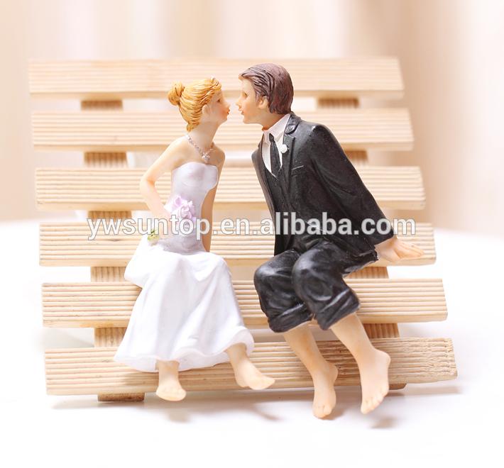 pin sitting couple resin wedding cake topper milanoocom cake on