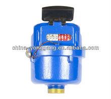 Volumetric rotary piston Water Meter